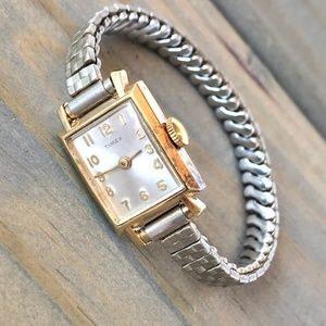 Timex Watch Vintage Mechanical Wind-Up Works Well